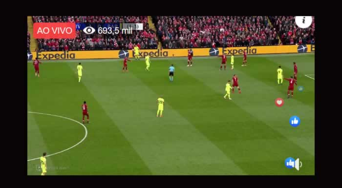 facebook do esporte interativo transmite liverpool x barcelona ao vivo tv e brasil facebook do esporte interativo