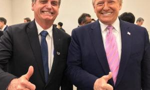 bolsonaro g20 e trump