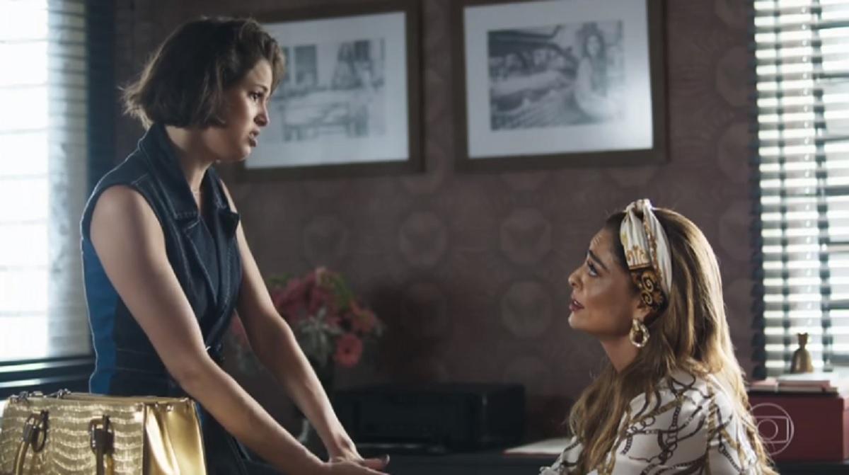 josiane descobre que é filha de amadeu
