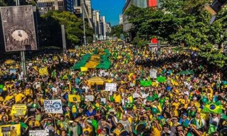 manifestacao #Dia30PeloBrasil