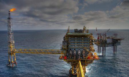 projeto de petróleo offshore