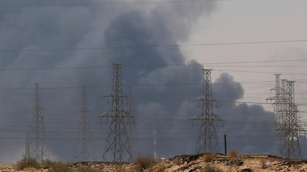 ataque drones Aramco em Abqaiq arabia saudita preco petroleo