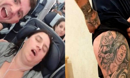 tatuagem mulher roncando britanico